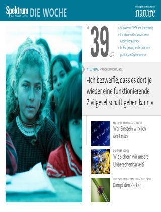 Spektrum - Die Woche 39/2015
