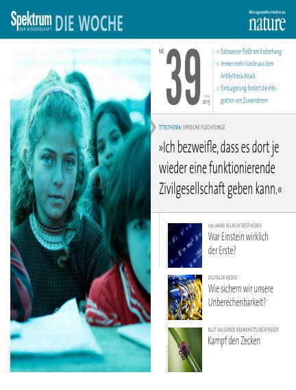 Spektrum - Die Woche October 01, 2015 00:00