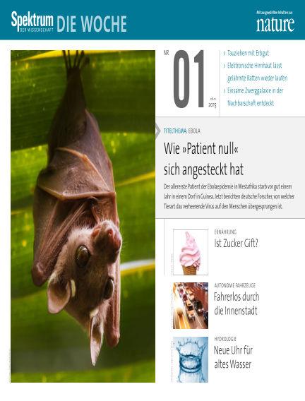 Spektrum - Die Woche January 08, 2015 00:00