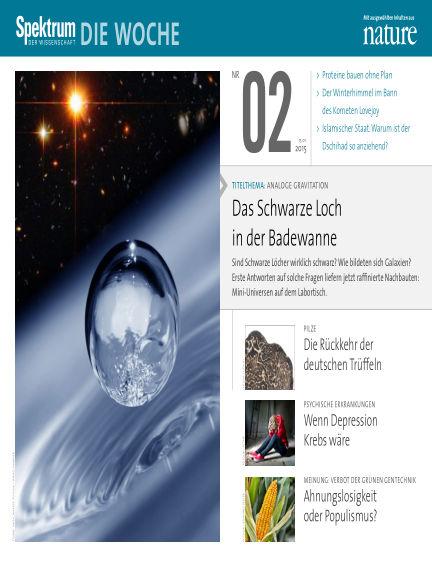 Spektrum - Die Woche January 15, 2015 00:00