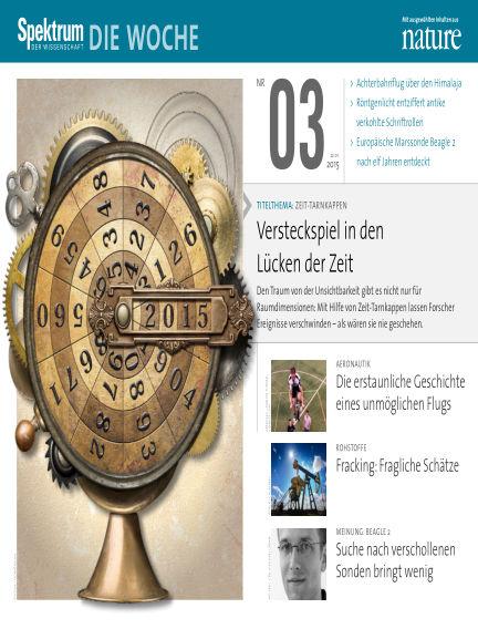 Spektrum - Die Woche January 22, 2015 00:00