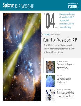 Spektrum - Die Woche 04/2015