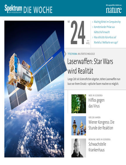 Spektrum - Die Woche June 18, 2015 00:00