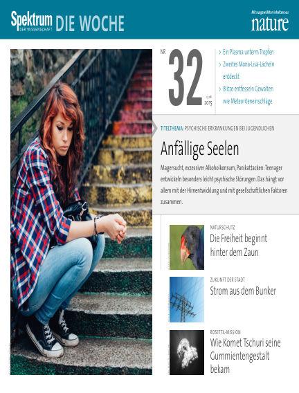 Spektrum - Die Woche August 13, 2015 00:00