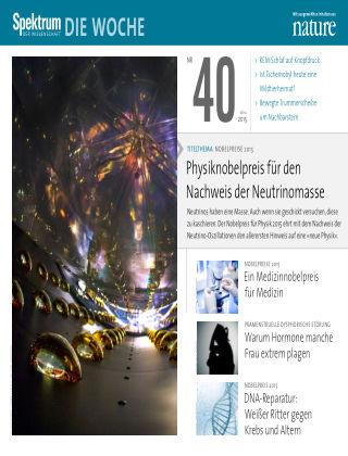 Spektrum - Die Woche 40/2015