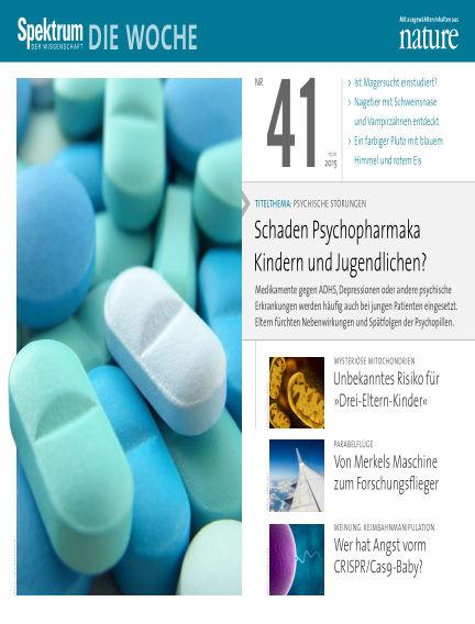 Spektrum - Die Woche October 15, 2015 00:00