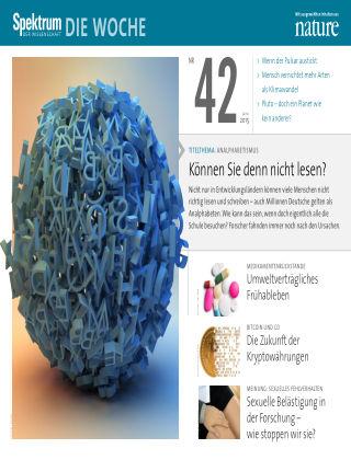 Spektrum - Die Woche 42/2015