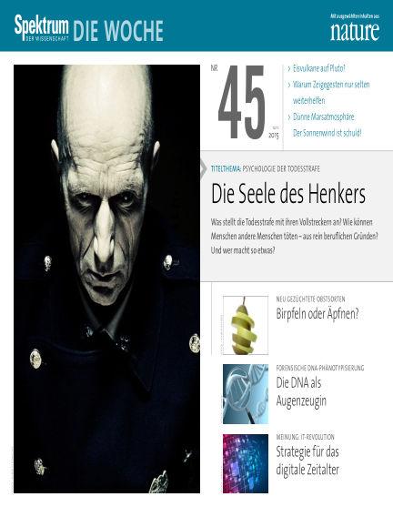 Spektrum - Die Woche November 13, 2015 00:00