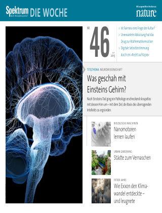 Spektrum - Die Woche 46/2015