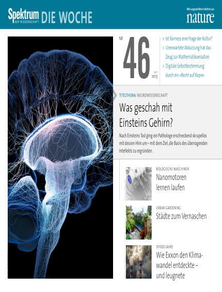 Spektrum - Die Woche November 19, 2015 00:00