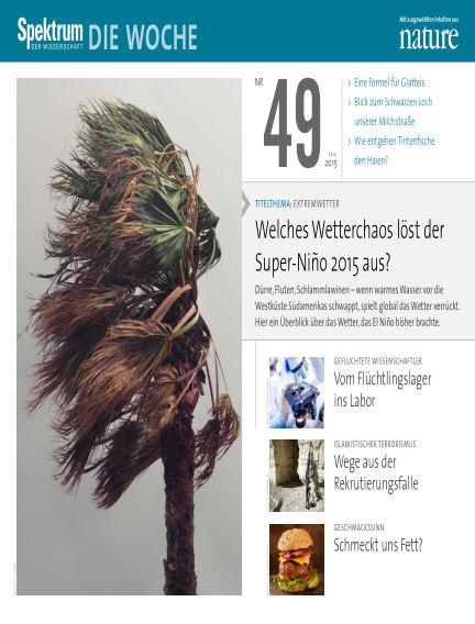 Spektrum - Die Woche December 10, 2015 00:00