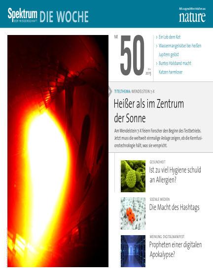 Spektrum - Die Woche December 17, 2015 00:00