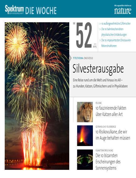 Spektrum - Die Woche December 30, 2015 00:00