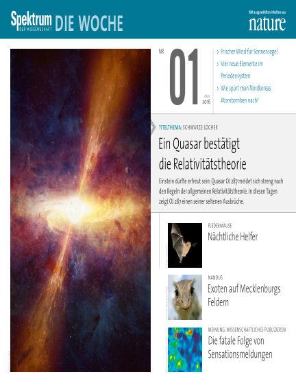 Spektrum - Die Woche January 07, 2016 00:00