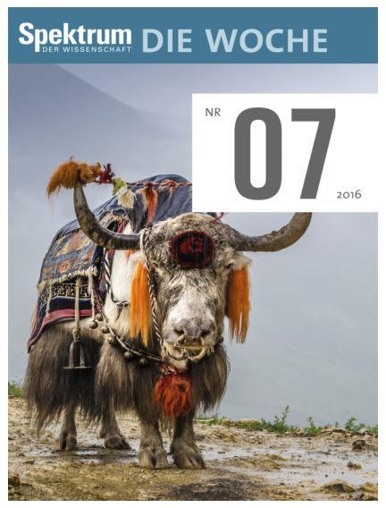 Spektrum - Die Woche February 18, 2016 00:00
