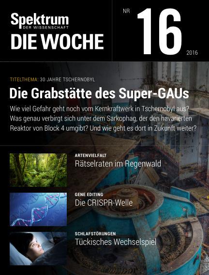 Spektrum - Die Woche April 21, 2016 00:00