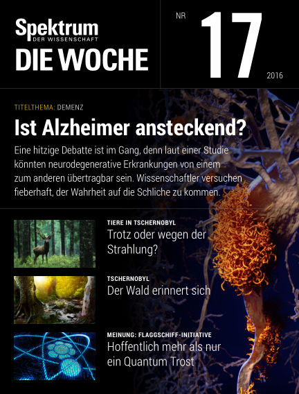 Spektrum - Die Woche April 28, 2016 00:00