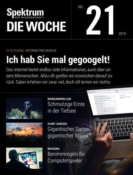 Spektrum - Die Woche May 26, 2016 00:00