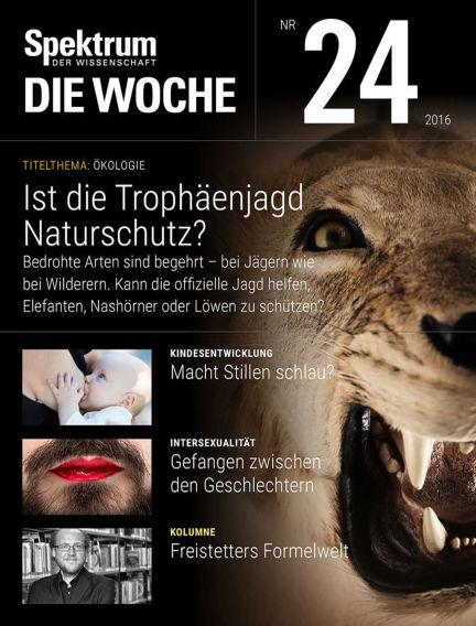 Spektrum - Die Woche June 17, 2016 00:00