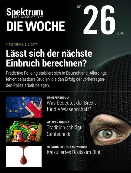 Spektrum - Die Woche June 30, 2016 00:00