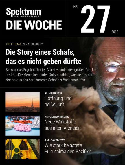 Spektrum - Die Woche July 08, 2016 00:00