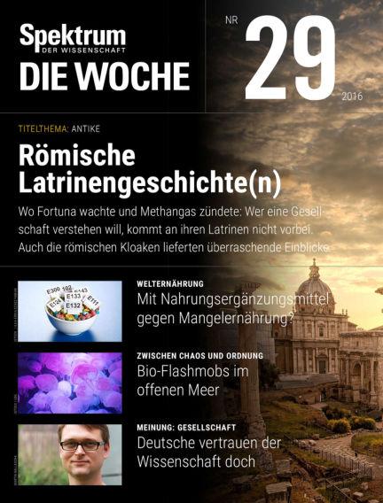 Spektrum - Die Woche July 21, 2016 00:00