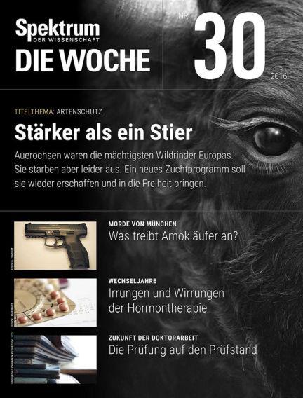 Spektrum - Die Woche July 28, 2016 00:00