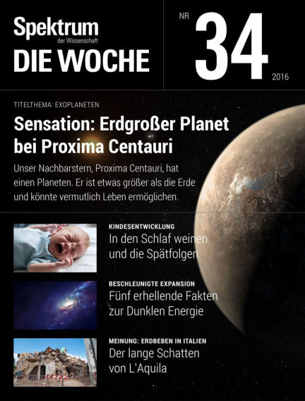 Spektrum - Die Woche August 25, 2016 00:00