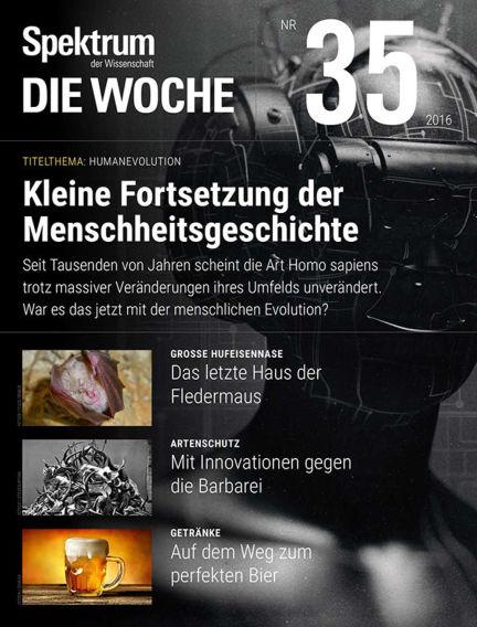 Spektrum - Die Woche September 01, 2016 00:00