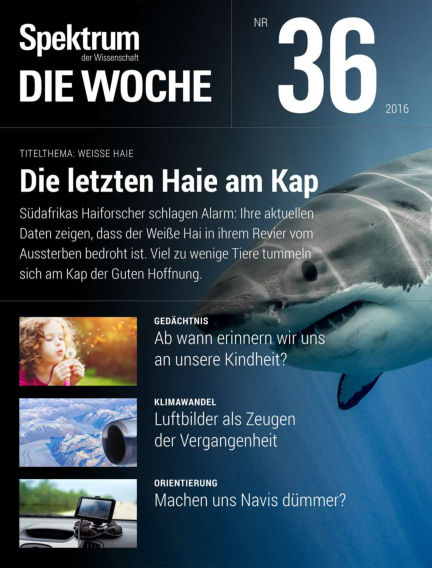Spektrum - Die Woche September 08, 2016 00:00