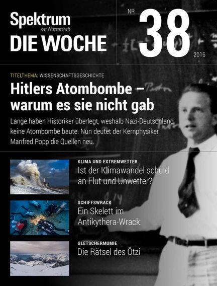 Spektrum - Die Woche September 22, 2016 00:00