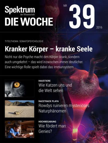 Spektrum - Die Woche September 29, 2016 00:00