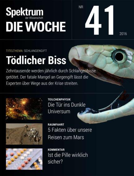 Spektrum - Die Woche October 13, 2016 00:00