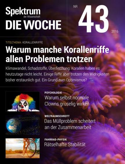 Spektrum - Die Woche October 27, 2016 00:00