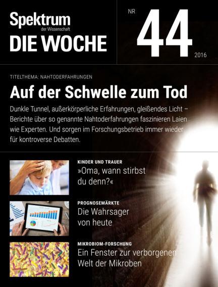 Spektrum - Die Woche November 03, 2016 00:00