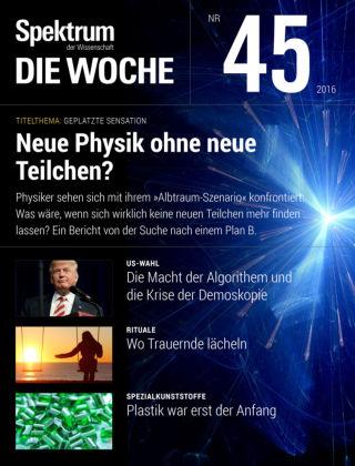 Spektrum - Die Woche 45 2016