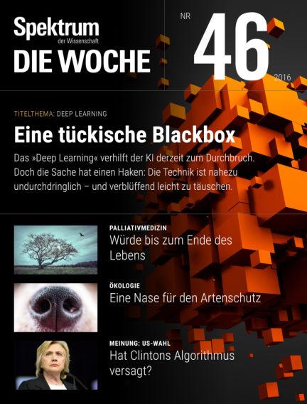 Spektrum - Die Woche November 17, 2016 00:00
