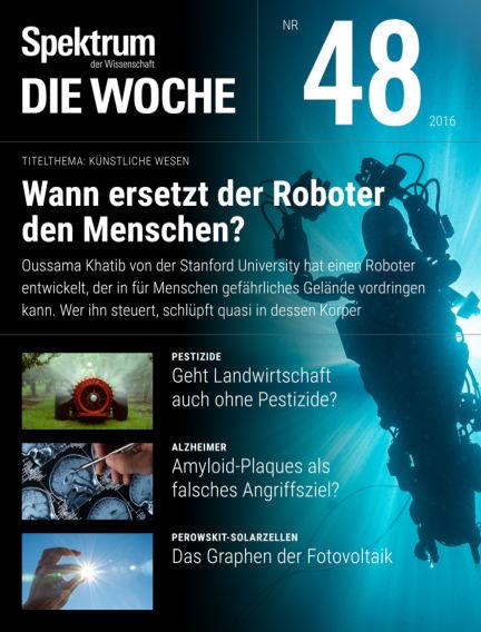 Spektrum - Die Woche December 01, 2016 00:00