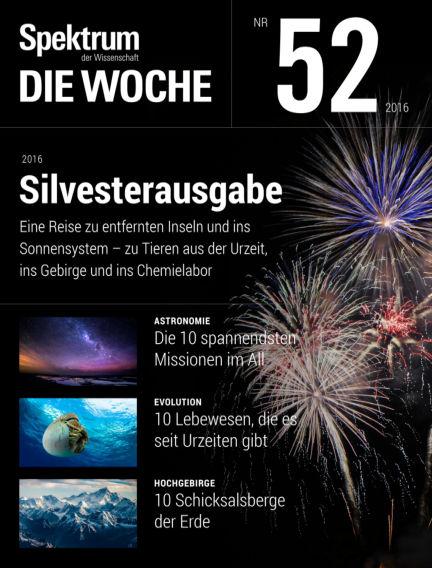Spektrum - Die Woche December 29, 2016 00:00