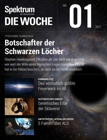 Spektrum - Die Woche January 05, 2017 00:00