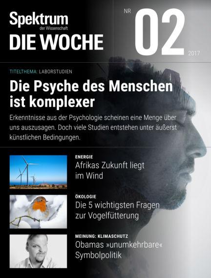 Spektrum - Die Woche January 12, 2017 00:00