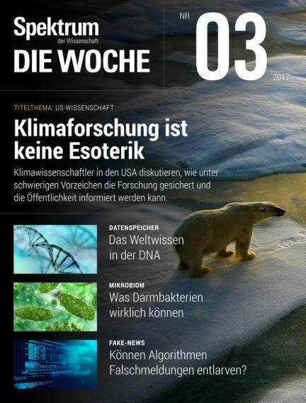 Spektrum - Die Woche January 19, 2017 00:00