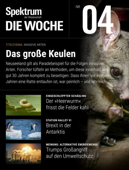 Spektrum - Die Woche January 26, 2017 00:00