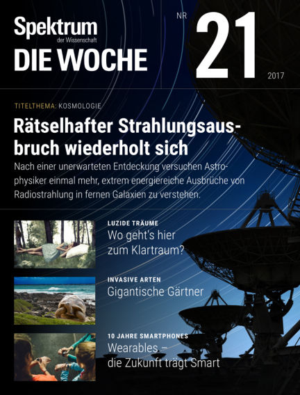 Spektrum - Die Woche May 24, 2017 00:00