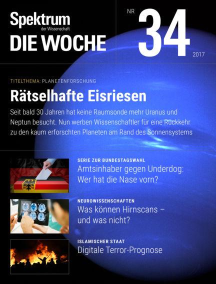 Spektrum - Die Woche August 24, 2017 00:00