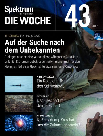 Spektrum - Die Woche October 26, 2017 00:00