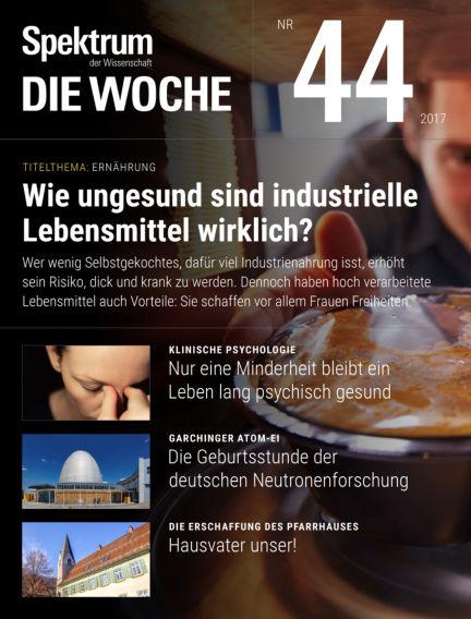Spektrum - Die Woche November 02, 2017 00:00
