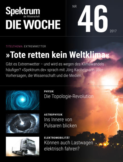 Spektrum - Die Woche November 16, 2017 00:00