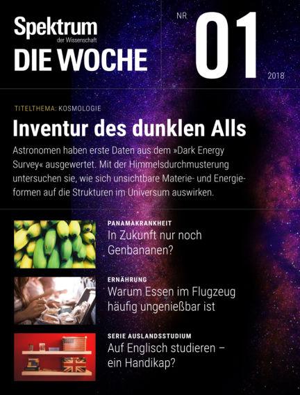 Spektrum - Die Woche January 04, 2018 00:00