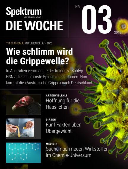Spektrum - Die Woche January 18, 2018 00:00